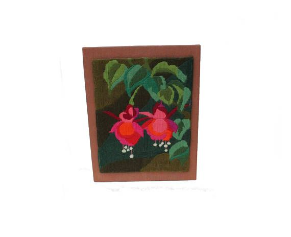 Gorgeous vintage retro 70s Wall hanging Board with