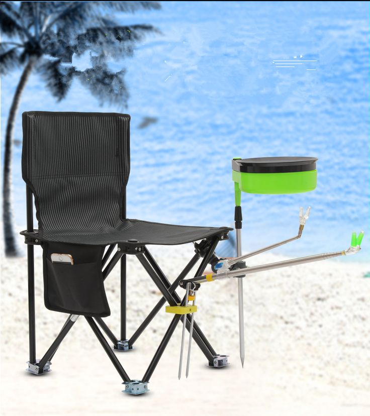Cool Folding portable multi functional stand fishing chair with a fishing table fishing stool FREE SHIPPING Amazing - Model Of packable chair Picture