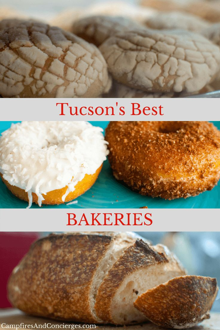 The Best Bakeries in Tucson Tucson donuts, bakery Tucson, Tucson bakeries, kosher bakery #tucson #bakeries