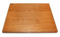 Large white oak professional chopping board