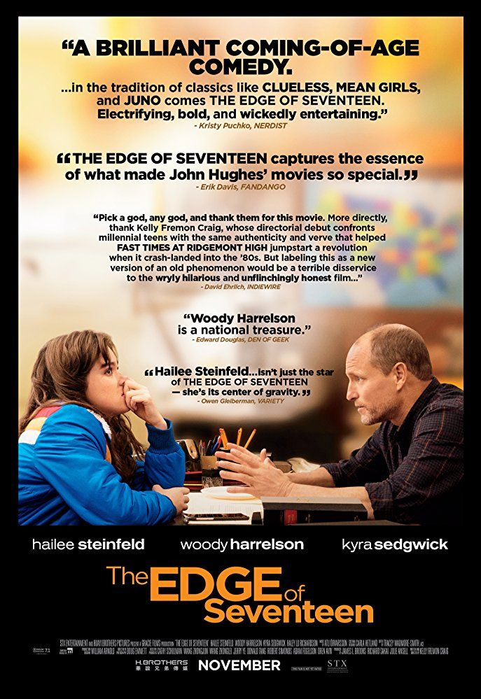 The Edge Of Seventeen 2016 Imdb Seventeen Film Comedy