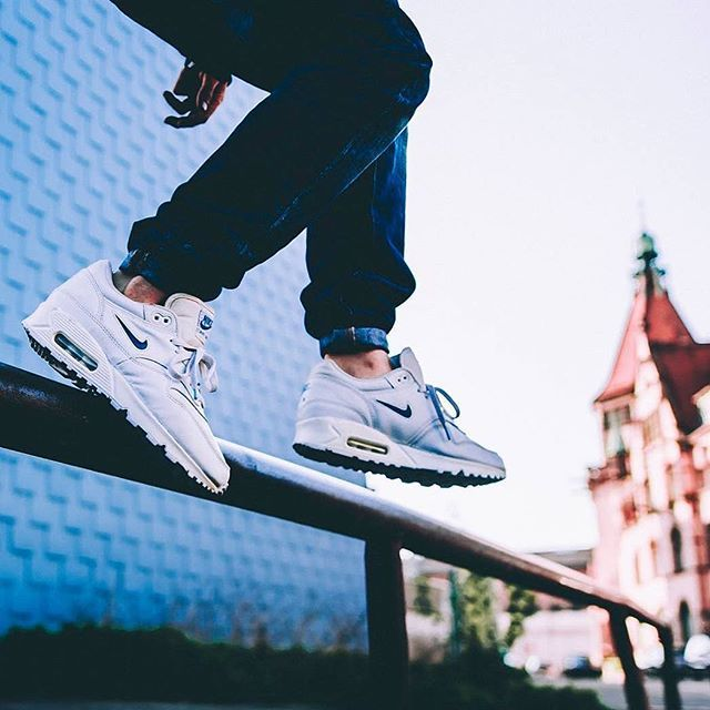 #airmaxday Nike Air Max 1 Jewel Hybrid by @makephoto / soleswap by @noisela Use the hashtags #SADP and #SneakersAddict for a feature! # #AM1 #AM90 #sneakermates #fresh #instatag #nike