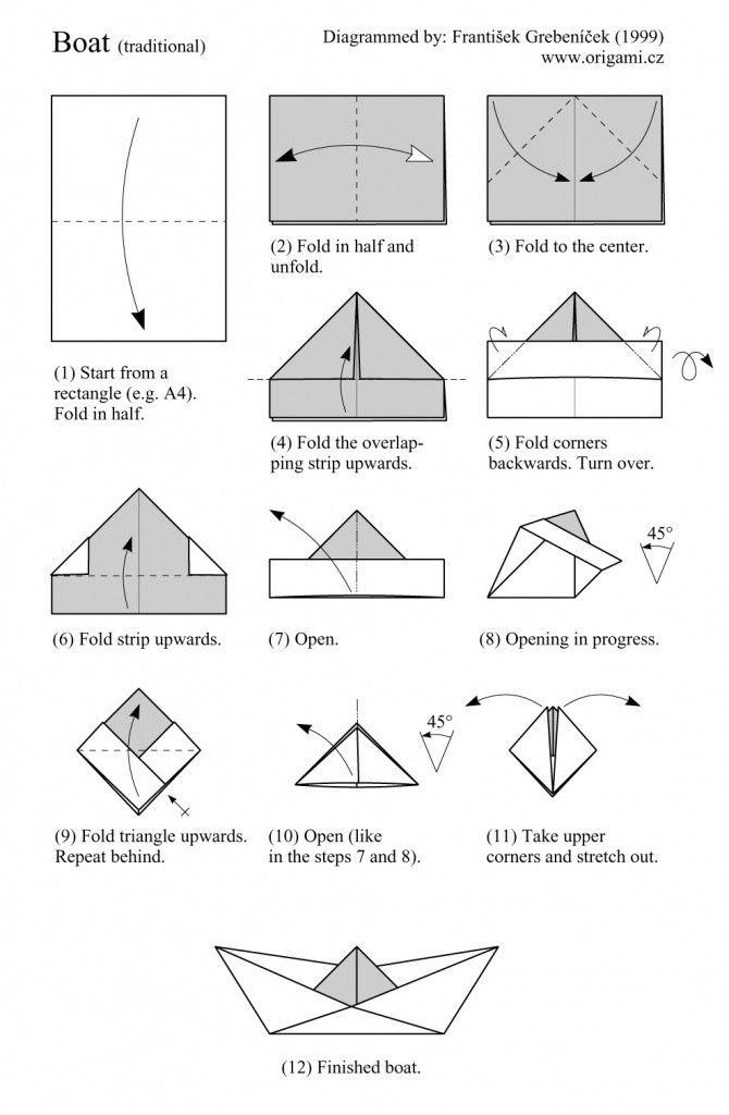 DIY baqrquito de origami