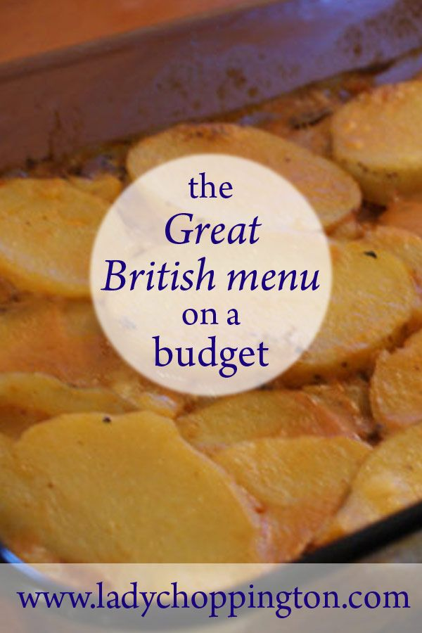 The Great British menu on a budget for under £50 per week: http://bit.ly/2dgAwOe