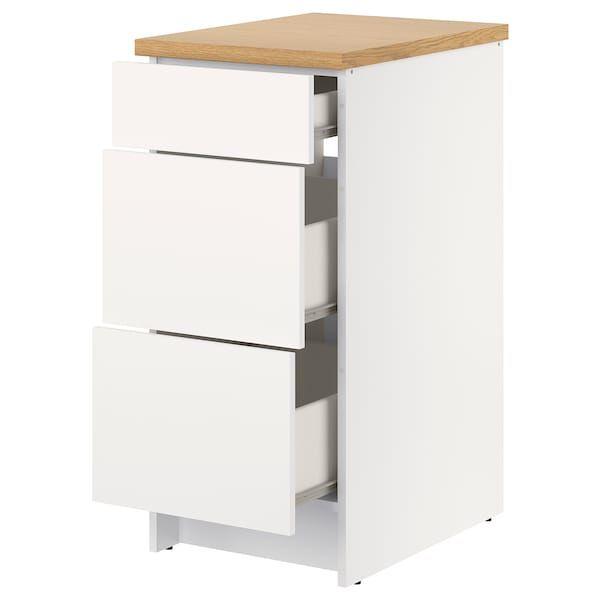 Cassettiere Di Plastica Ikea.Knoxhult Mobile Base Con Cassetti Bianco 40 Cm Nel 2020