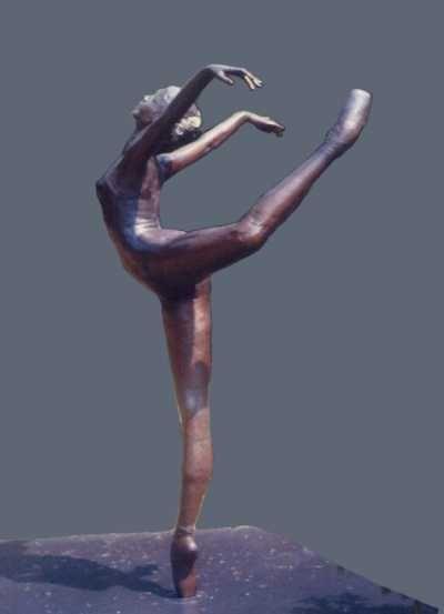 Bronze Dance and Ballet sculpture by artist Sterett-Gittings Kelsey titled: 'Attitude-Croisse-of-Richard (Ballet statue)' £318255 #sculpture #art
