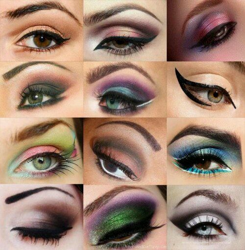 Different Ways To Do Eyeshadow Eyeshadow Styles