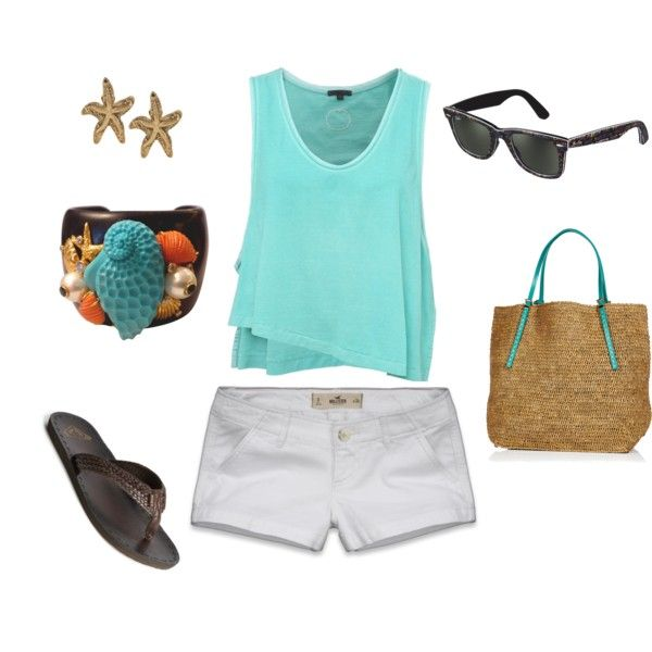 Summer Blues! I love all of this one. So comfy and practical for a day out!Summertime