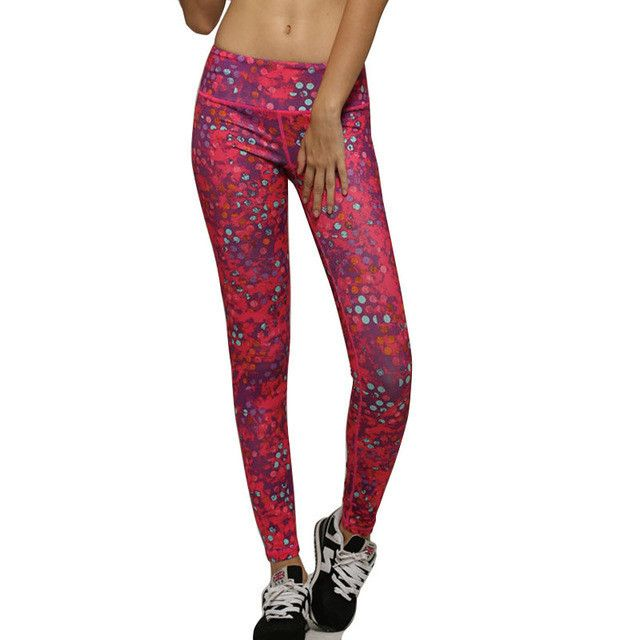 2016 Women Running Tights Fitness Leggings Sport Active Pant Gym Woman Running Trousers Elastic Pants For Women Sweat Pants