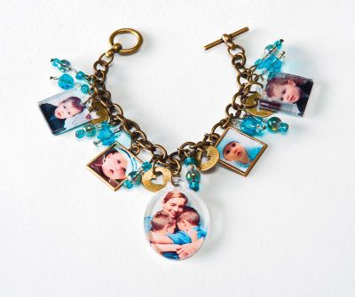Mod Podge® Mother's Day Photo Charm Bracelet