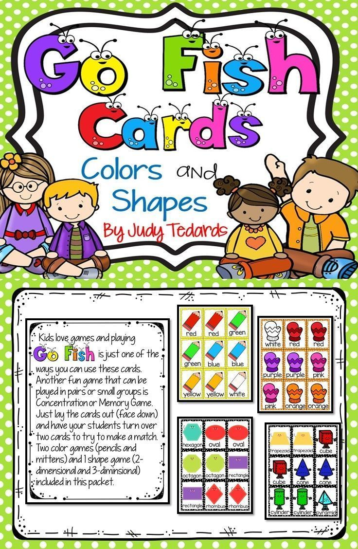 Coloring games online play - Coloring Games With Number Key To Play Online Go Fish Cards Colors And Shapes