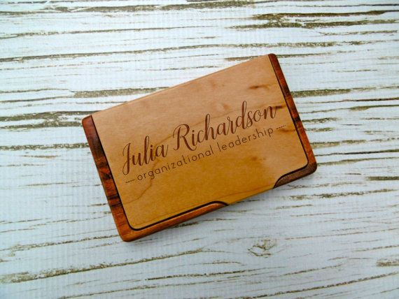 21 best corporate gift ideas images on pinterest corporate gifts custom business card holder personalized business card holder laser engraved business gift new job graduation fathers day corporate colourmoves