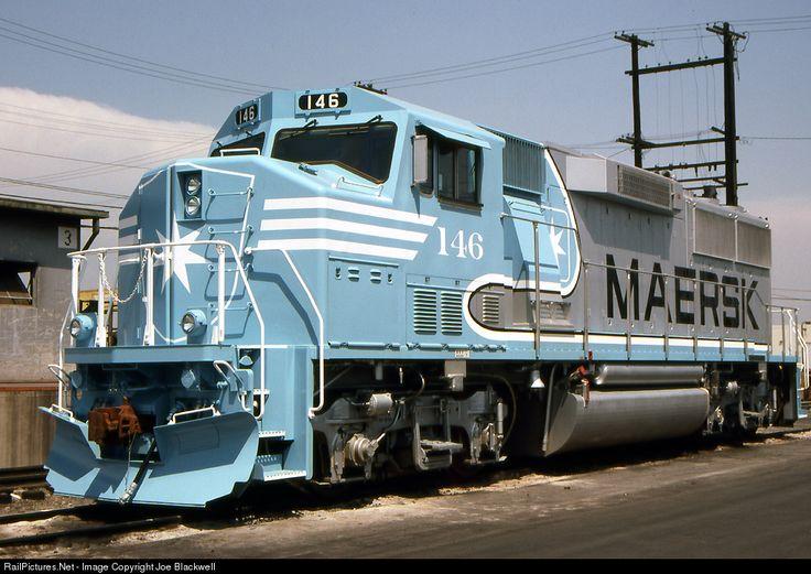 RailPictures.Net Photo: ATSF 146 Atchison, Topeka & Santa Fe (ATSF) EMD GP60M at Los Angeles, California by Joe Blackwell