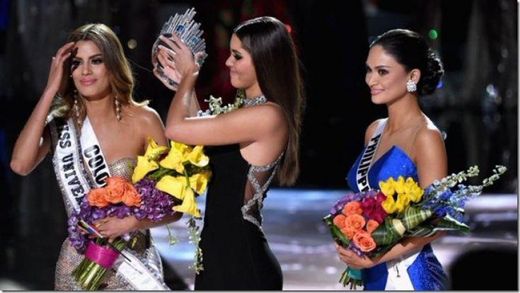 Los mejores memes tras el error en Miss Universo - http://www.leanoticias.com/2015/12/21/los-mejores-memes-tras-el-error-en-miss-universo/