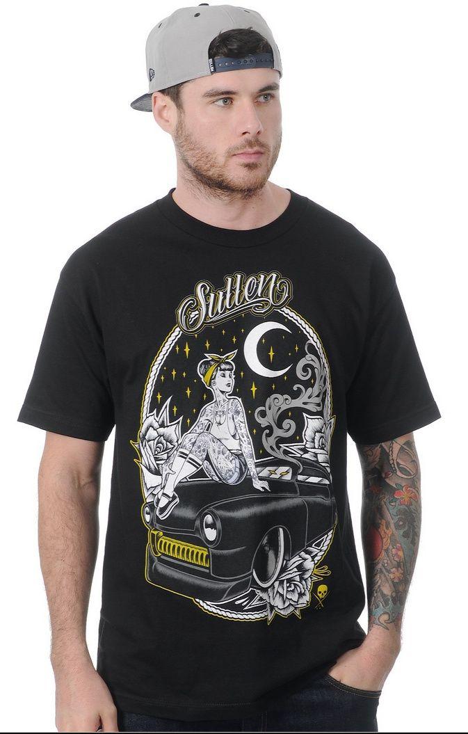Pánske tričko Sullen - Midnight Maiden Black