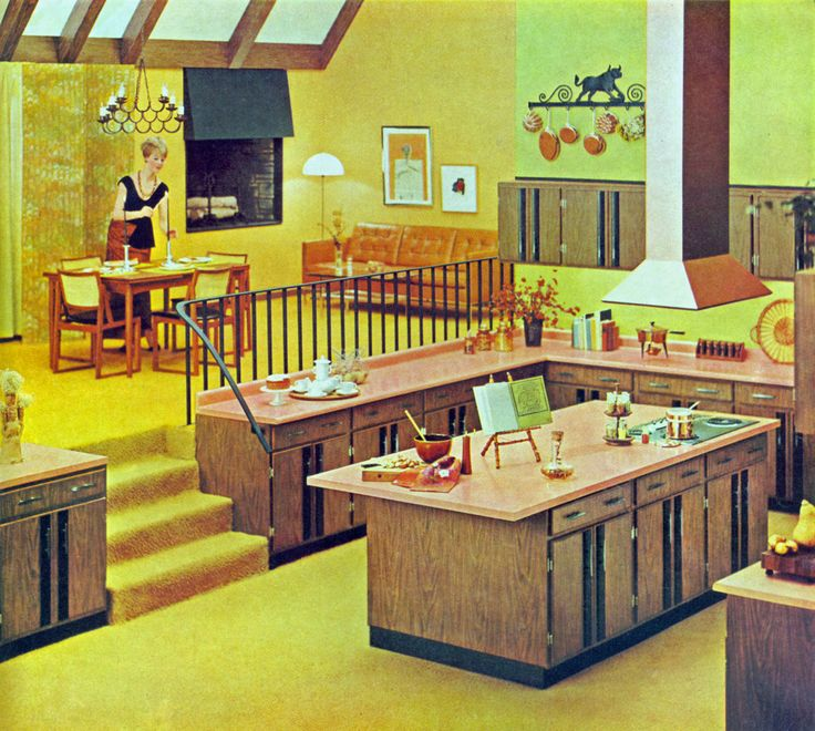 Formica kitchen, 1966