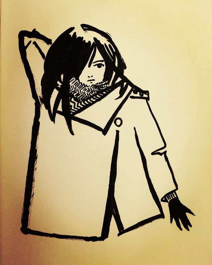 Ashya Lane-Spollen Reaching for a sword. Ink and brush pen. #badass #illustration #illustrator #art #artist #artblog #artblogger #artlife #draw #drawing #painting #ink #brushpen #instaart #girl #woman #teen #teenager #warrior #hero #heroine #winter #fight #fighter #brave #story #adventure #hair #style