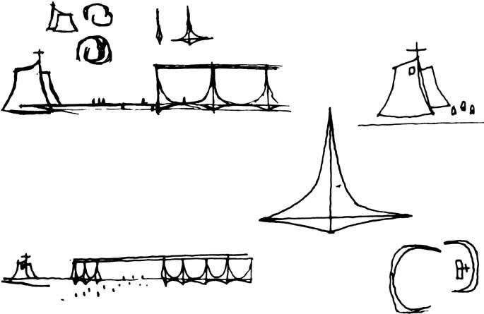 Oscar Niemeyer: Coletânea de 49 croquis de Oscar Niemeyer produzidos entre 1936 e 2003 - ARCOWEB