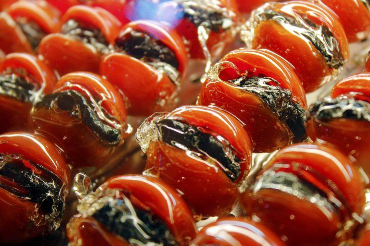 Tanghulu (Fruta caramelizada)