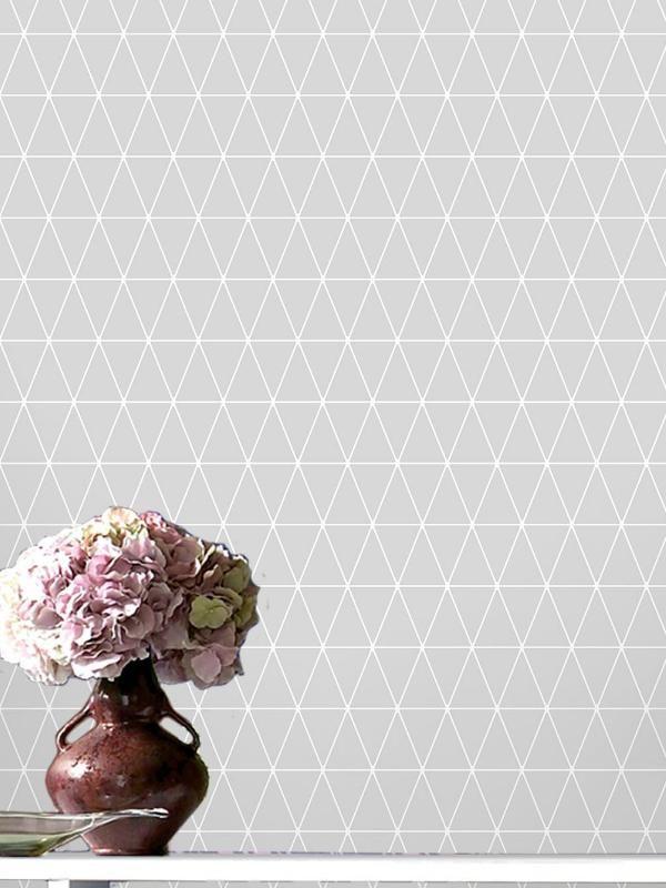 Papier Peint Geometrique Triangles Noir Et Blanc Gris : Papier peint geometrique triangles noir et blanc gris