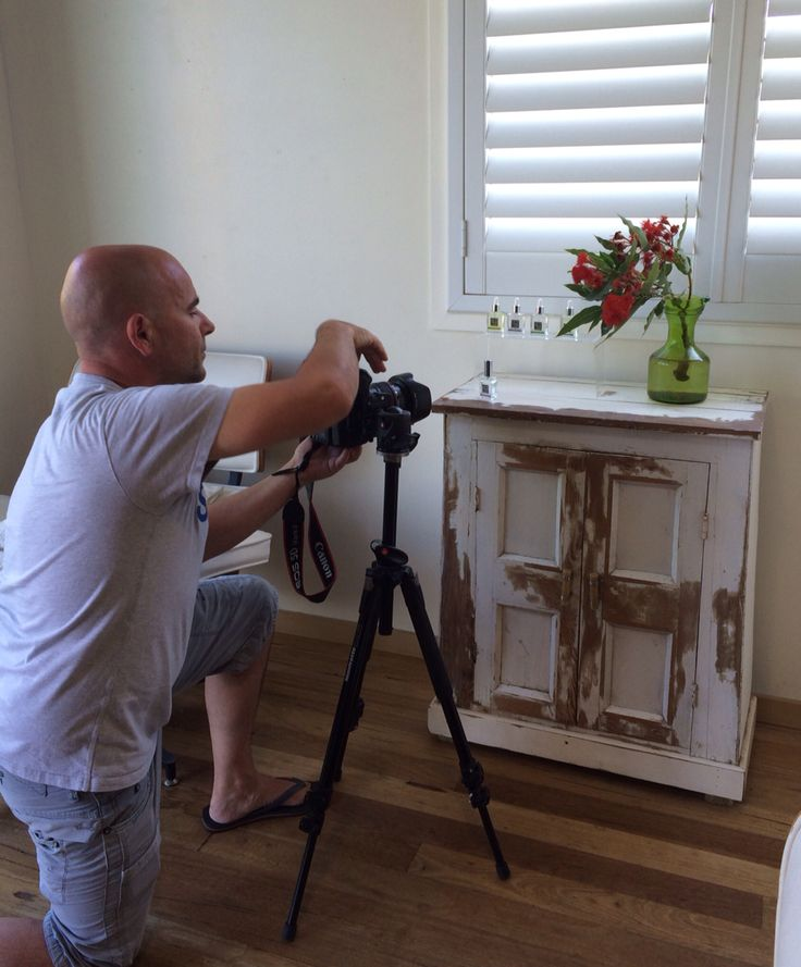 Photo Shoot of new products for media