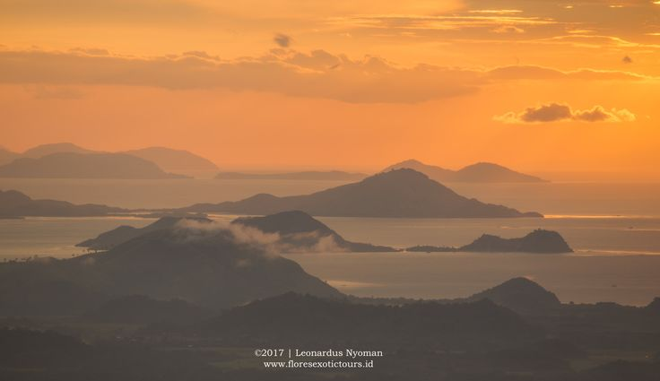 Sunset over Labuan bajo