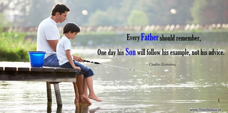 Beautiful Father and Son Bonding Quotes and Sayings for Happy Fathers Day 2016, Lovely Father Son Relationship Quotes for WhatsApp Status in English, Best Dad Quotations