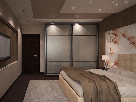 Квартира для молодой семейной пары.. Спальня