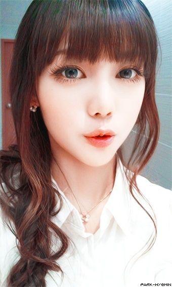 nice girl in the korea