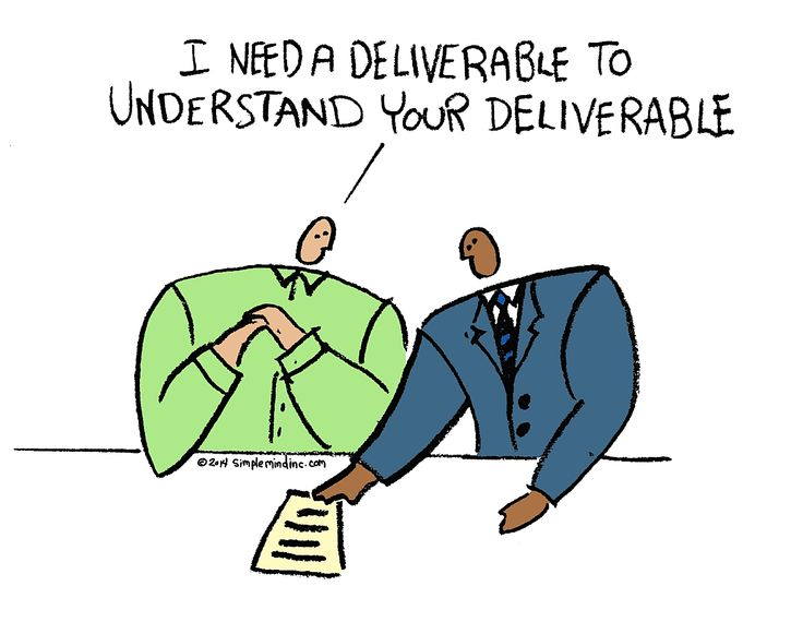 something I see a lot in the consulting world. So I made a cartoon