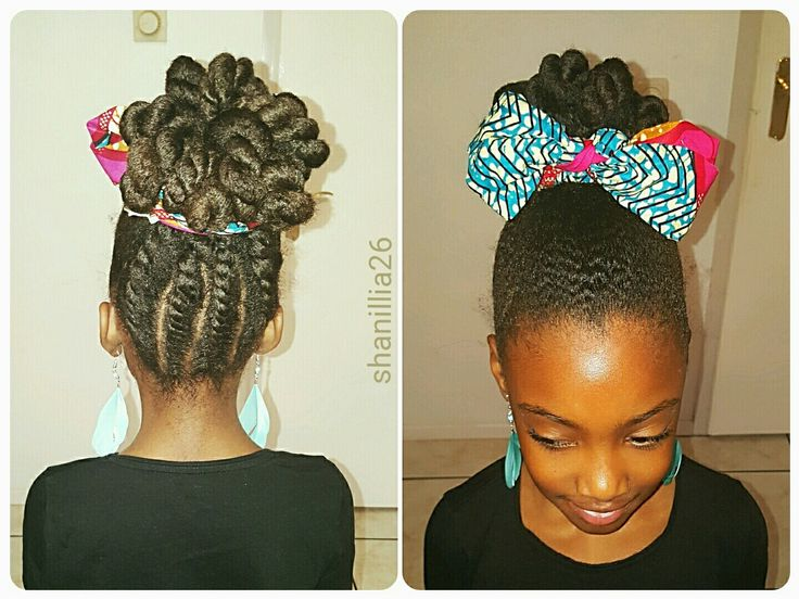 Cute kids hairstyle