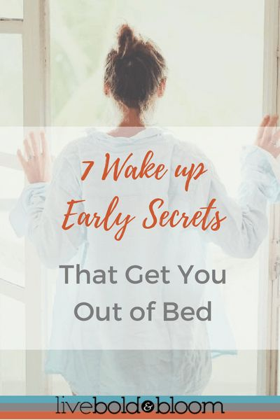 7 Secrets On How To Wake Up Early http://liveboldandbloom.com/01/productivity/how-to-wake-up-early