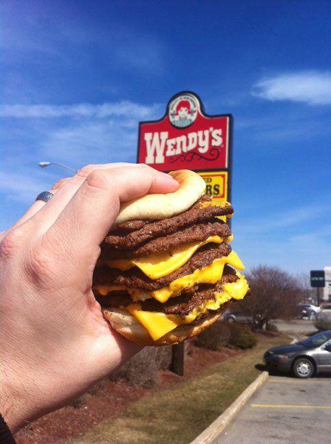 Wendy's Octoburger