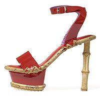 bamboe shoe design by Jan Jansen
