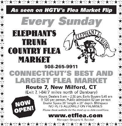 elephant's trunk flea market new milford connecticut - Google Search