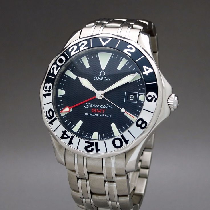 FS: OMEGA SEAMASTER PROFESSIONAL 300M GMT 50TH ANNIVERSARY 2534.50 41.5MM AUTO QJ107