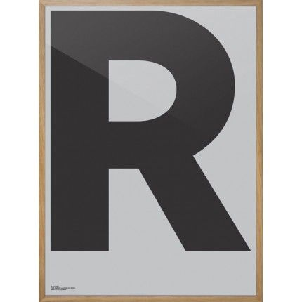 Playtype Typeface Poster R