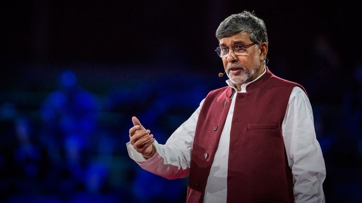 Kailash Satyarthi: How to make peace? Get angry | Talk Video | TED.com