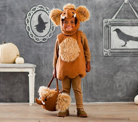 Pitapat Woolly Mammoth Halloween Costume Size 7 8