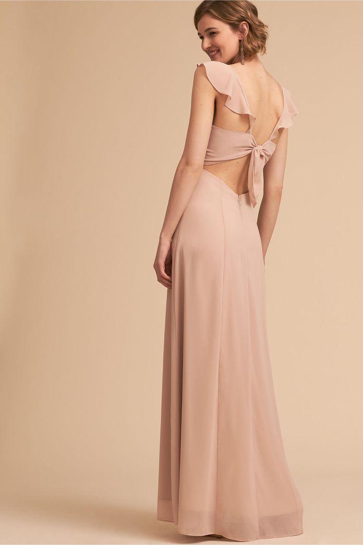 BHLDN Diana Dress Nude  in  Bridal Party   BHLDN    cathy