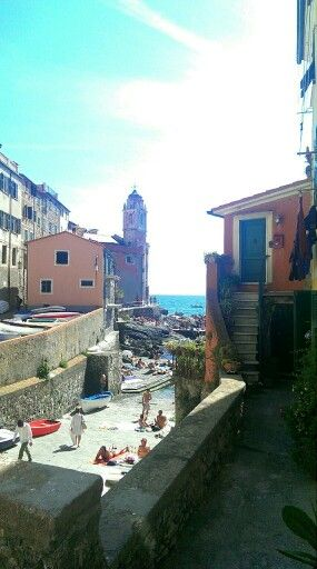 Beautiful Tellaro, Liguria, Italy