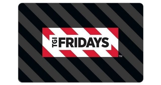 TGI Friday's $25 Gift Card Only $15  Free Shipping $15.00 (ebay.com)
