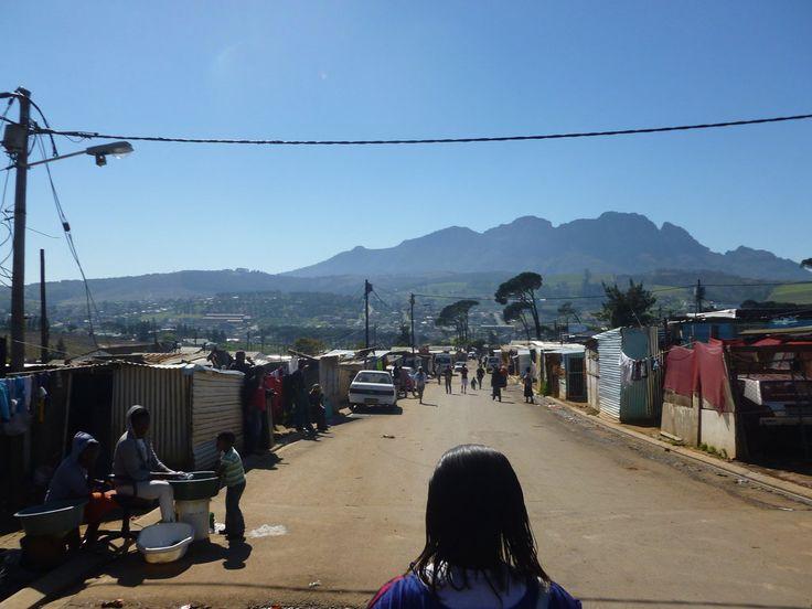 Kayamandi, Western Cape; living on the high