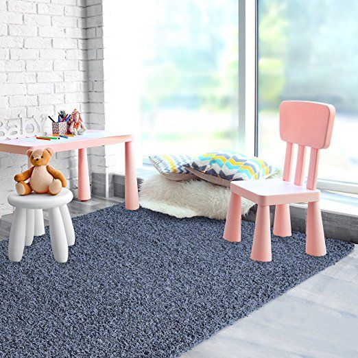 Amazon.com: Just For Kids Runner Rug 2ft0in x 8ft0in Rug in Aqua: Kitchen & Dining
