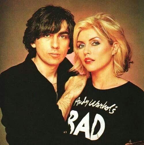 Debbie harry and Chris stein. | Blondie & Debbie Harry ...