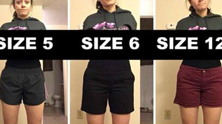 The reason this woman posed with pants of various sizes will inspire you