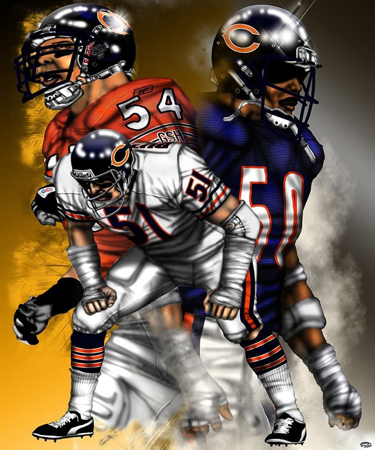 Legend of Linebackers: Butkis, Singletary, and Urlacher - Chicago Bears