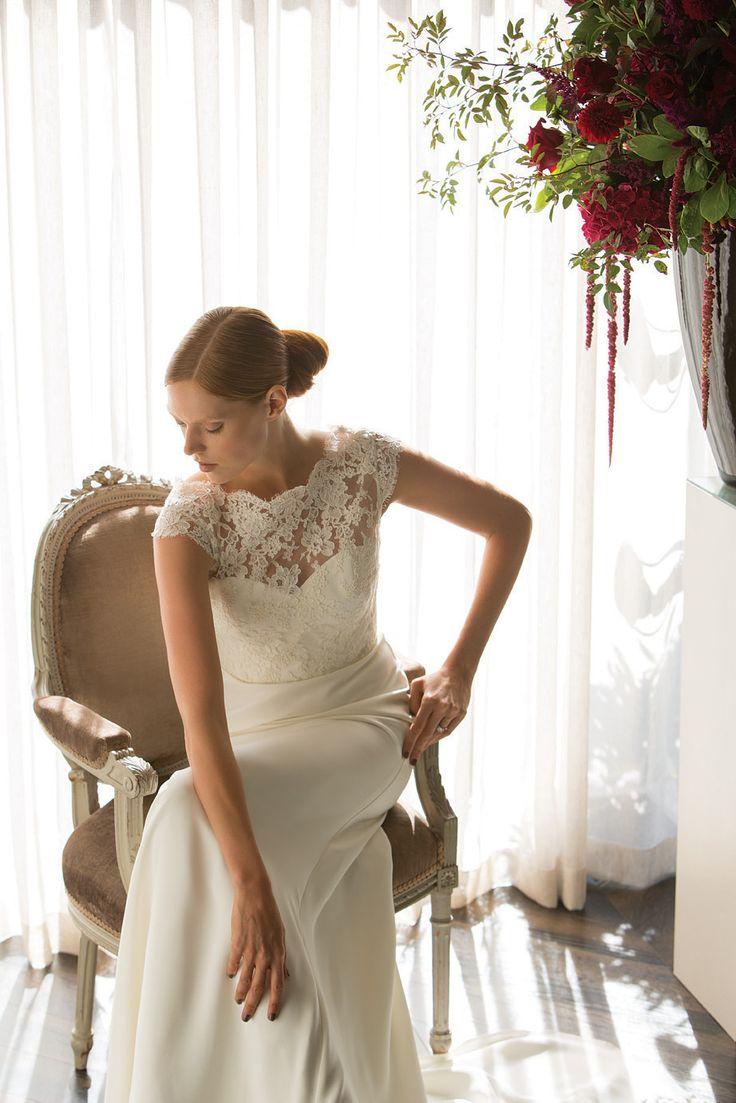 71 best Luxury Wedding Dresses images on Pinterest | Wedding ...