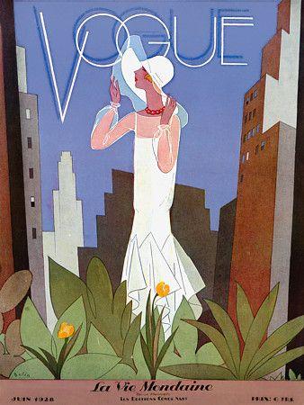 Paris Vogue (cover)' 1928 http://www.vintagevenus.com.au/products/vintage_poster_print-fas447