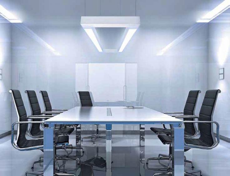 Светодиодное освещение рабочего пространства офиса